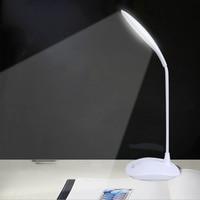 Wiederaufladbare Dimmer Flexible Led Stand Schreibtisch Lampe Moderne Touch Schalter Usb Lesen Studie Licht Tisch Lampen Für Schulkind Schlafzimmer-in Schreibtischlampen aus Licht & Beleuchtung bei