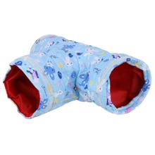 Small Pet Cartoon Tubes Hamster Toy Tunnel Bed Cute Nest Spring and Autumn