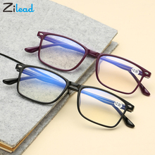 Zilead Anti Blue Ray Ultralight Men Women Computer Reading Glasses  Ametabolic Sturdy Presbyopia Parents Eyewear for Readers