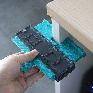 Image 4 - Plastikowy miernik powielania konturu 5 Cal kopiowanie nieregularnych kształtów dla idealnego dopasowania łatwy profil cięcia narzędzia stolarskie