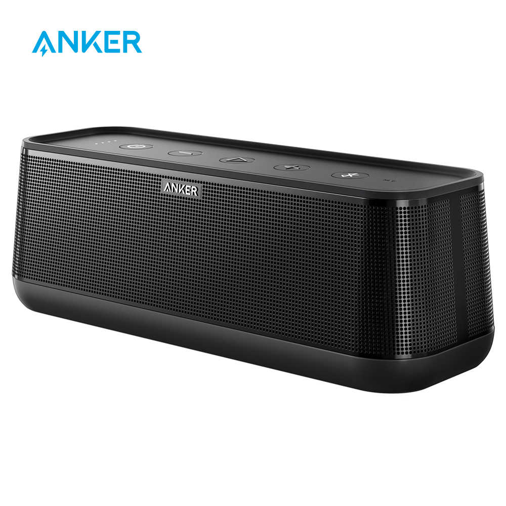 Anker SoundCore Pro+ 25W Premium Portable Wireless Bluetooth Speaker with Superior Bass and High Definition Sound with 4 Drivers