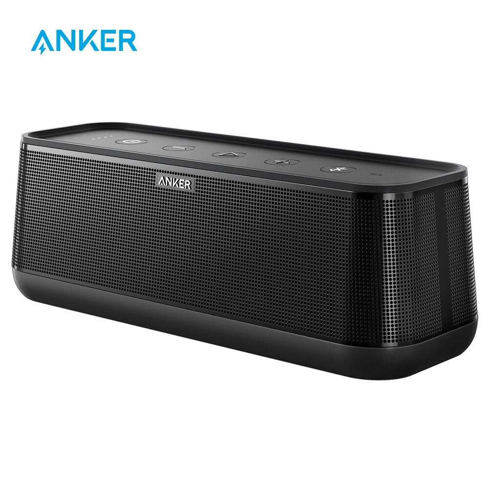 Anker SoundCore Pro + 25W haut-parleur Bluetooth Portable sans fil haut de gamme avec des basses supérieures et un son haute définition avec 4 pilotes