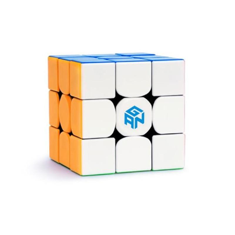 Gan 354 m Trois Étapes Magie Cube taille s Speedsolving Artefact Force Magnétique Stable Lisse Match Haute-fin Magique Cube