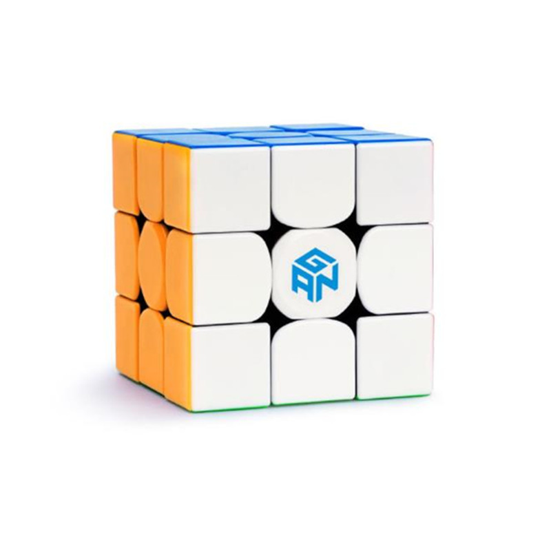 Gan 354 m trois étapes Cube magique petite taille résolution de vitesse artefact Force magnétique Stable lisse Match haut de gamme Cube magique