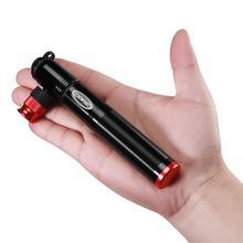 Pompe de vélo Portable ultralégère en alliage daluminium, gonfleur de CO2, Schrader & Presta Mini