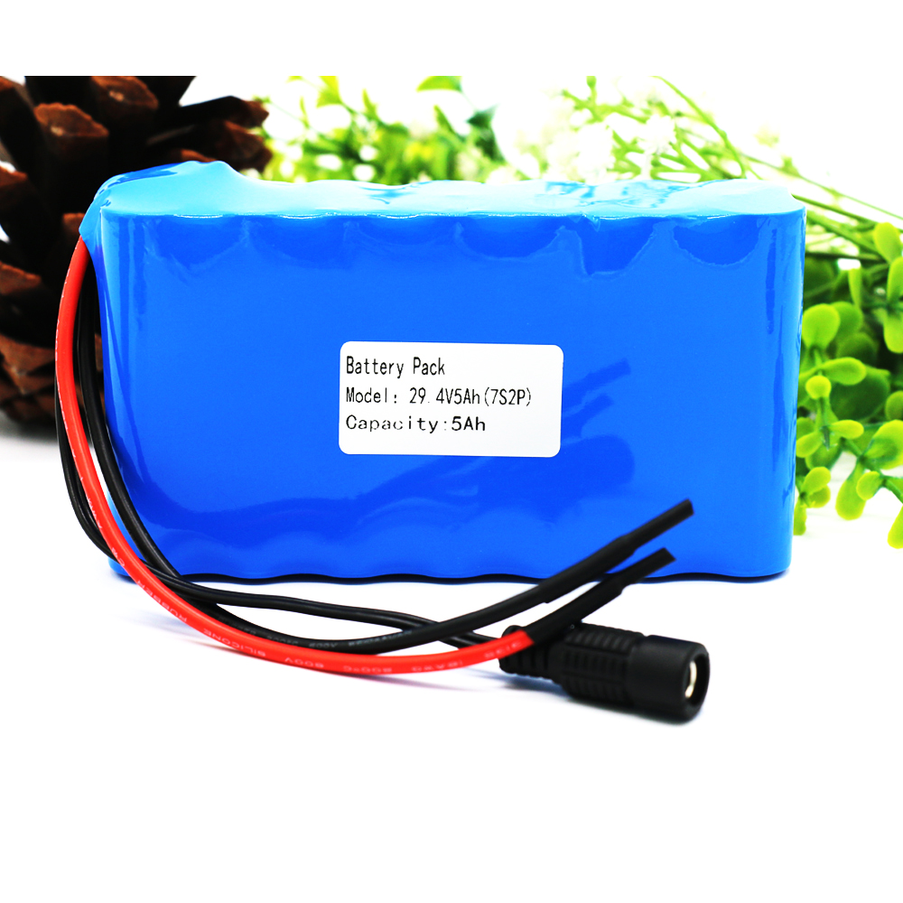 In Design; Aerdu 24v 7.5ah 6s3p 25.2v Li-ion Battery Pack Lithium Batteries For Electric Motor Bicycle Ebike Scooter Toy Drill Etc With Bms Novel
