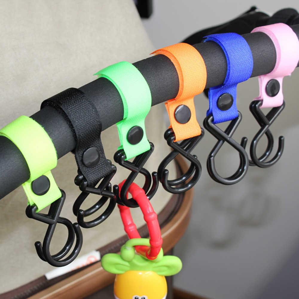 ใหม่มาถึงเด็กรถเข็นเด็กอุปกรณ์เสริมอเนกประสงค์รถเข็นเด็กทารก Hook Shopping รถเข็นเด็ก Hook Props แขวนโลหะสะดวกตะขอ