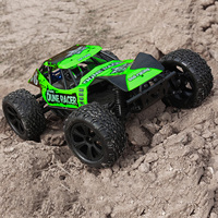 JFRC BS218T 1:10 4WD Off Road Racing Cars RC Dune Racer Waterproof Dirt Bike 550 Brushed Motor 40A Brushed ESC Monster Truck