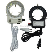 Adjustable LED Ring Light Diameter 61MM Industrial Microscope Camera Lens Light Source Integrated Lighting(China)