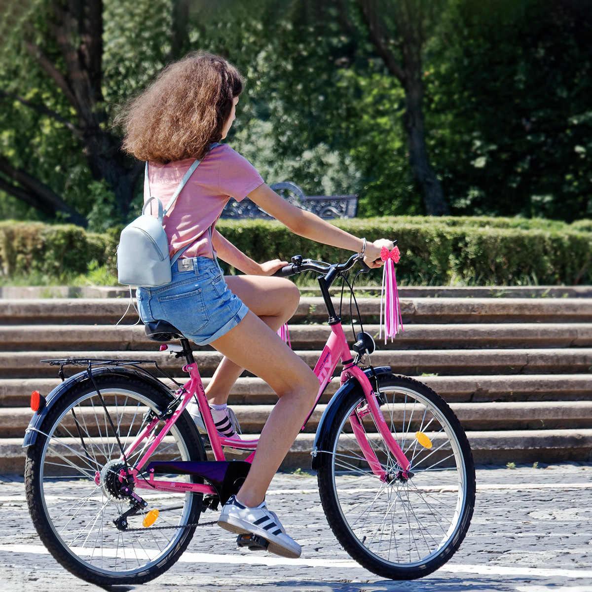 子供バイク吹流し自転車ハンドルリボン子供スクータータッセル Bisiklet Aksesuar バイク吹流し女の子バイクハンドルおもちゃ