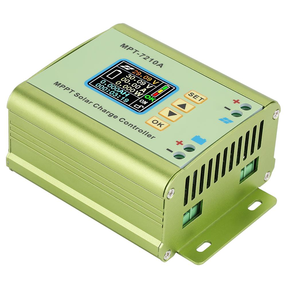 MPT 7210A Solar Controller Aluminum Alloy LCD MPPT Solar Panel Charge Controller for Lithium Battery battery