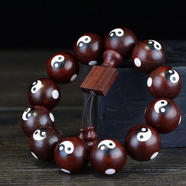 Lobular Rosewood Natural Wooden Bracelet