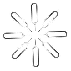 Image 2 - 5000 adet/grup evrensel Sim kart tepsi Pin çıkarma kaldırma İğne açıcı İtici cep telefonu için