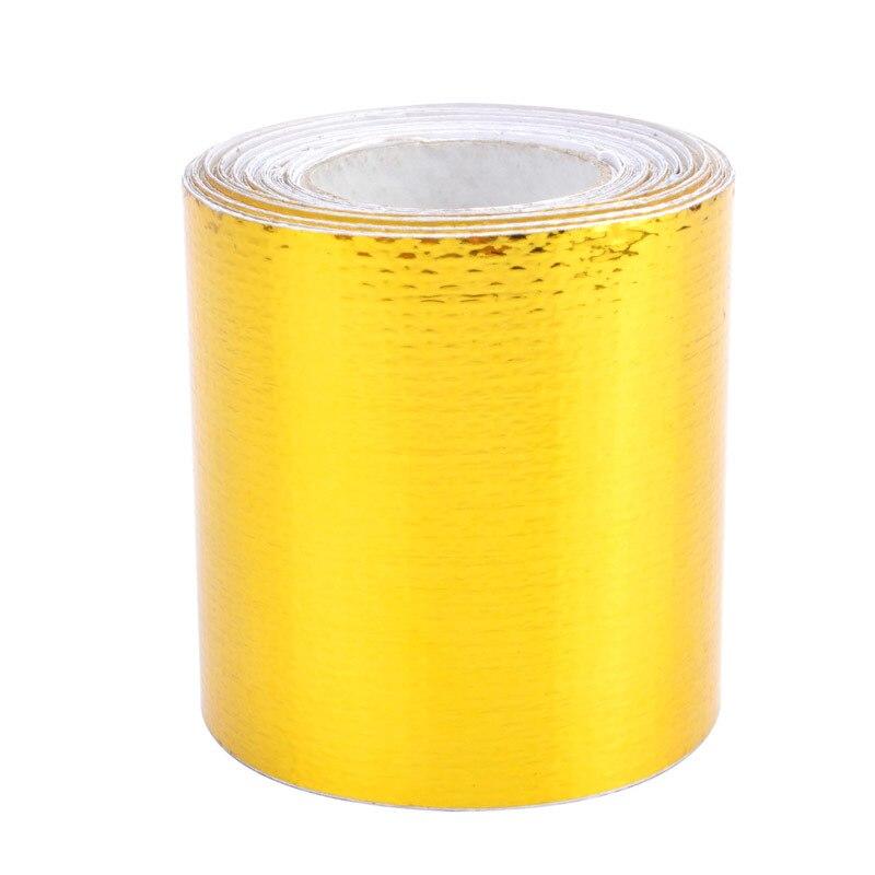 SPEEDWOW 5 м* 5 см лента для сохранения тепла выхлопных газов выхлопная труба коллектора с 6 шт. кабельные стяжки из нержавеющей стали для автомобильных мотоциклов автозапчасти