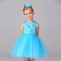 L15062 Girl Summer Dress Girls princess dresses Tutu children dress
