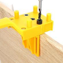 41 шт./компл. 6-10 мм, АБС-пластиковый ручной деревянный Дырокол деревообрабатывающий локатор подключения платы отверстие локатор само центрирующий Линг деревянный дюбель