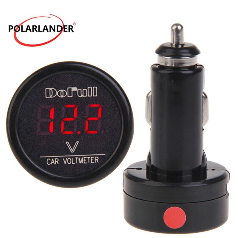 DF-01-V-Auto Voltmeter Zigarettenanzünder-Ladegerät RGB Digital Display A10