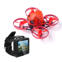 Snapper6 Brushless RC Racer 1S 5.8G 48CH 700TVL Camera F3 Built in OSD 65mm Micro FPV RC Drone with FPV Watch