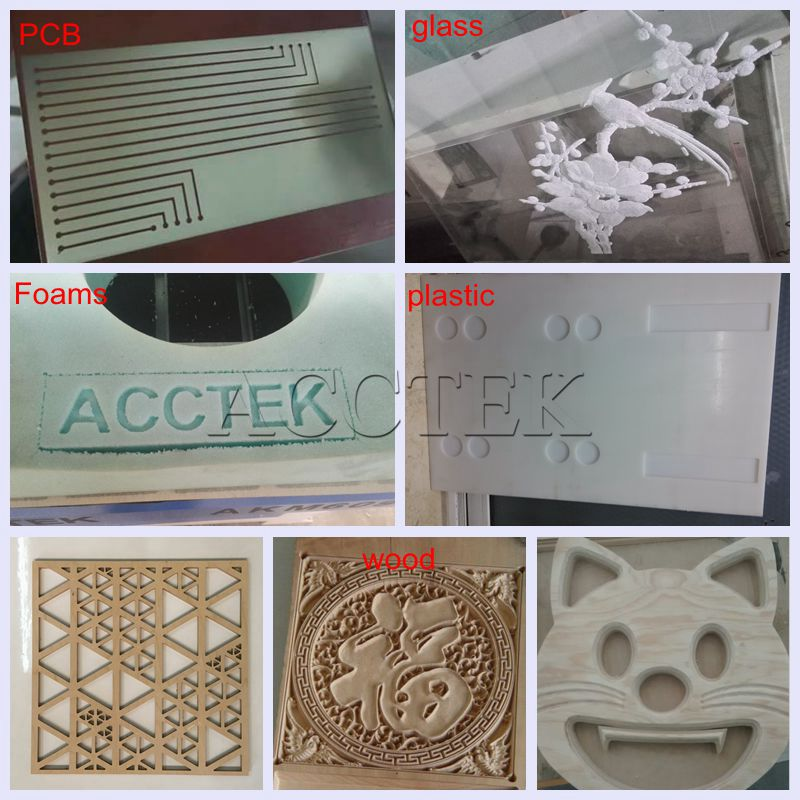 High Precision Metal Plate Engraving Machine / 1325 Cnc Router For Aluminum Engraving And Cutting