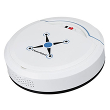 New Hot Auto Vacuum Cleaner Robot Cleaning Home Automatic Mop Dust Clean Sweep white