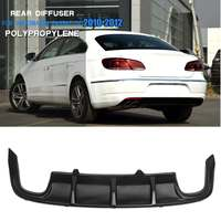 Car Rear Bumper Lip Diffuser Body kit for Volkswagen Passat CC 2010 2012 Car Styling Auto Accessories
