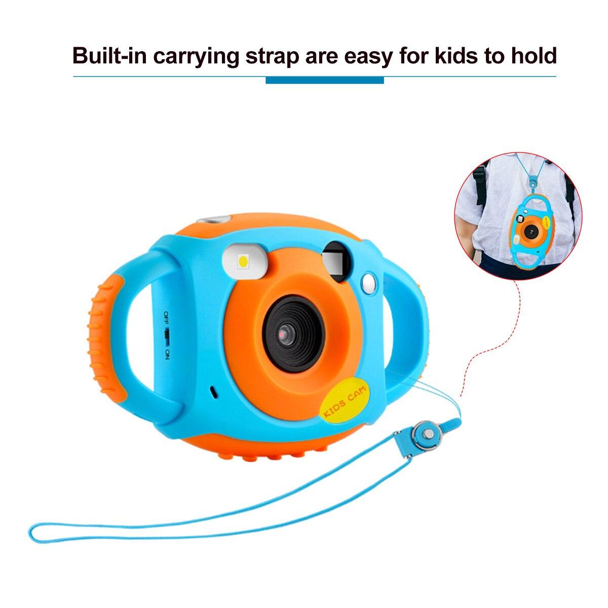 1080 P double caméra enfant en bas âge jouets caméra éducative Mini appareil Photo numérique photographie cadeau enfants caméra - 6