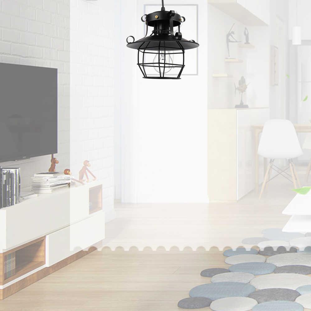 Новое поступление Старинная Мода ретро винтажный стиль Промышленная люстра антикварная стеклянная лампа бра