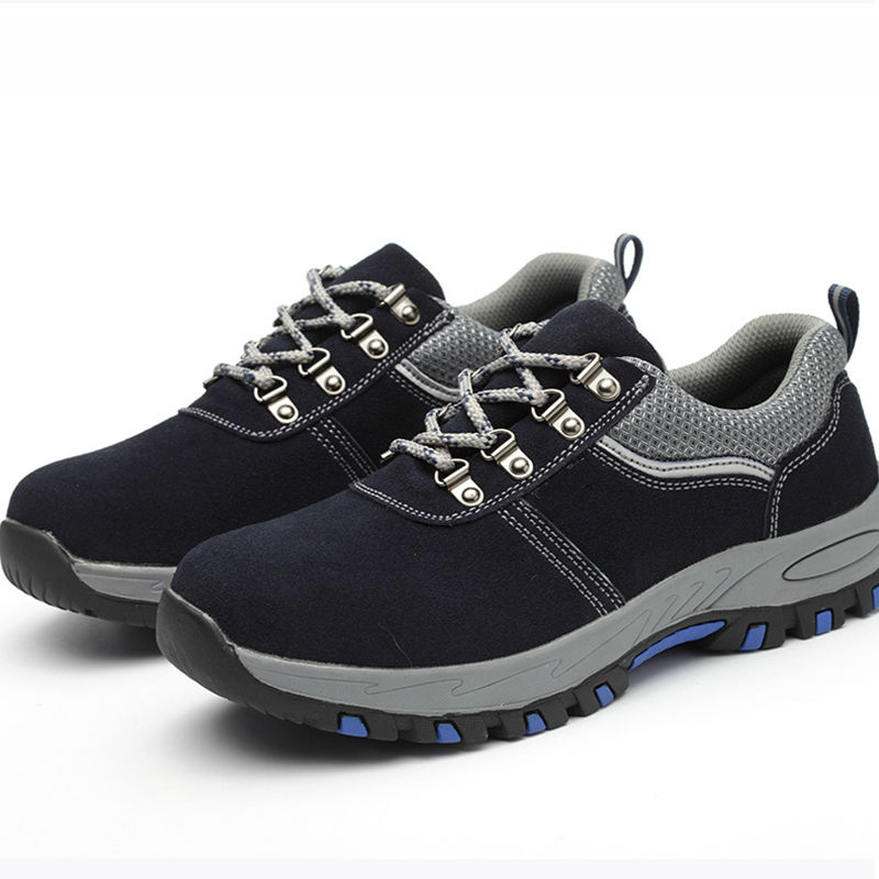 AC13021 Breathable Lightweight Casual Work Shoes Safety Boots Work Boots Men Safety Shoes Sneakers Toe Cap Steel Sneakers Work