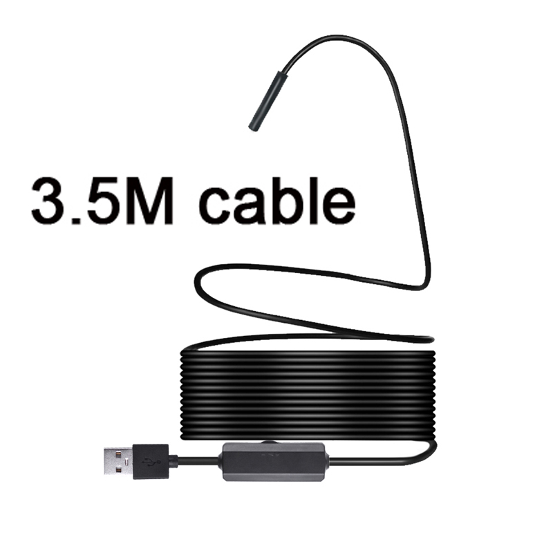 3.5M 1200P Semi-rigid Wireless Endoscope WiFi Borescope Inspection Camera 2.0 Megapixels HD Snake Camera For Android IOS3.5M 1200P Semi-rigid Wireless Endoscope WiFi Borescope Inspection Camera 2.0 Megapixels HD Snake Camera For Android IOS