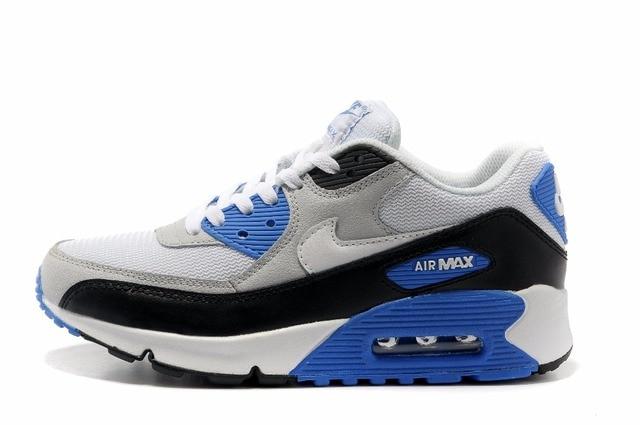 NIKE AIR MAX 90 hombres deporte max 90 corriendo Zapatos Zapatillas de deporte de malla transpirable al aire libre atlético de luz de zapatos de hombre