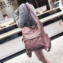 2019 Rucksack Women Bagpack Sac A Dos Femme Travel Laptop Pu Leather Backpack Back Bag Pack School Backpack Bag For Teenage Girl women s leather backpack mini tassel backpack women pu back pack backpacks for teenage girls rucksack small travel bag txy519