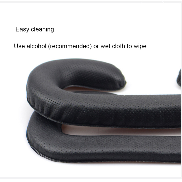 CLAITE PU Leather Face Foam Replacement Eye pad For HTC VIVE Headset VR Foam Cover Black Virtual Reality Accessories 4
