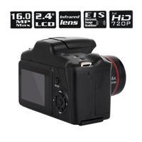 Портативная Цифровая видеокамера Full HD 1080 P видеокамера 16X зум AV интерфейс 16 мегапиксельный сенсор CMOS