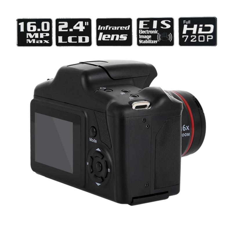 Tragbare digitale kamera professionelle Camcorder Full HD 1080P Video Kamera 16X Zoom AV Interface 16 Megapixel CMOS Sensor