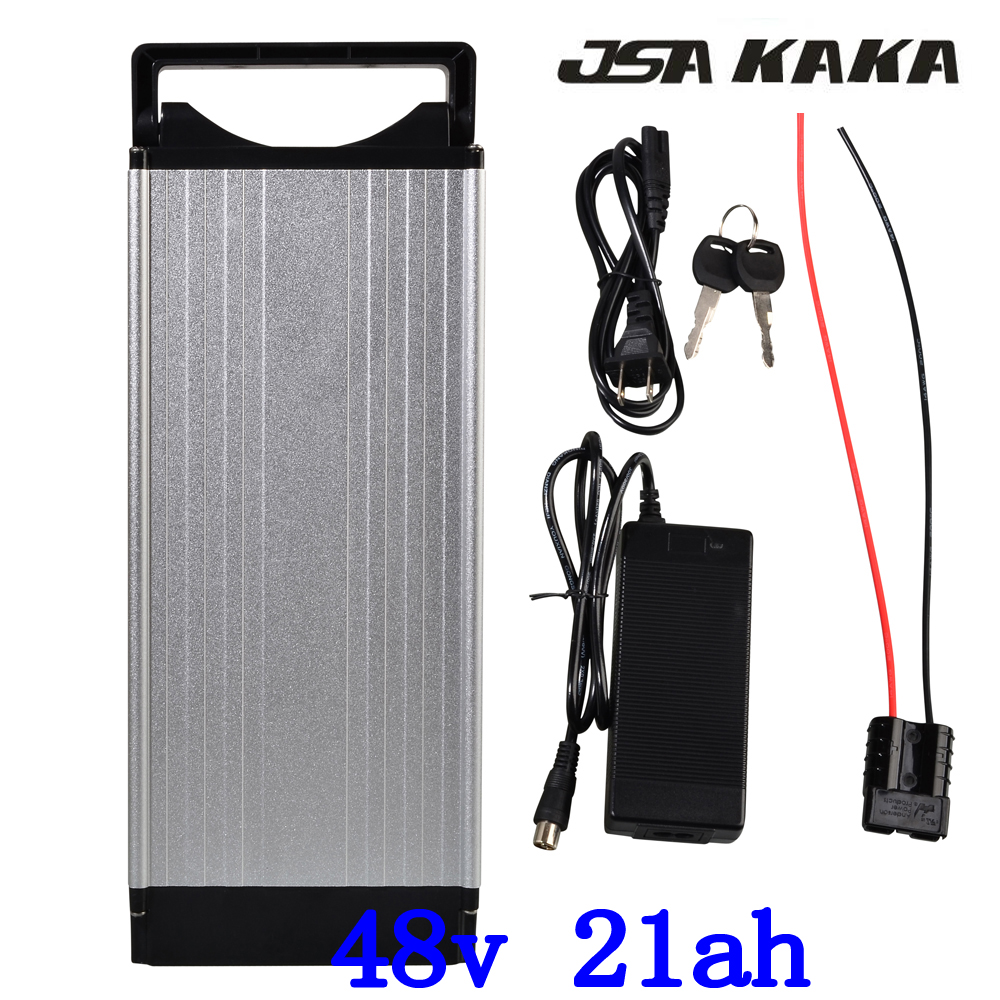 48V 1000W 1500W 2000W rear rack ebike battery 48V 20AH electric bicycle battery 48V 20AH Lithium battery with Tail Light|Electric Bicycle Battery| |  - title=