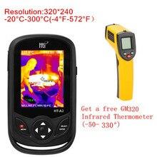 HT-A1 HT-A2 100-240V 3,2 дюймов тип мобильного телефона HD тепловизор камера изображений ИК термометр