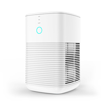 PM1232A Table HEPA Air Purifier For Home Room Office 3 Layers Filter + 3 Working Speeds Air Cleaner Machine Appliance 110 240V