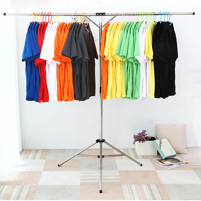 Pliable Vêtements support de séchage acier inoxydable Réglable Vêtement cintre de vêtements pour Intérieur Extérieur WXV Vente