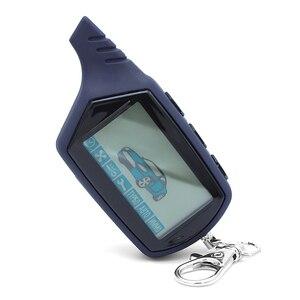 Image 3 - A91 Starline A91 Telecomando LCD Per Due Vie di Allarme Auto Keychain Starline A91 Versione Russa