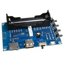 В продаже PAM8403 Bluetooth 4,0 Мощность Плата усилителя 5V 2 канала Динамик стерео усилитель USB 18650 Батарея Мощность для аудио