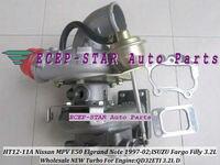 Free Ship HT12 11A 14411 1W400 Turbo Turbocharger For NISSAN MPV E50 Elgrand Homy Note For ISUZU Fargo Filly QD32ETI 3.2L 97 02
