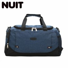 Portable Canvas Travelling Bag Male Leisure Time Will Capacity Motion Zipper Handbag