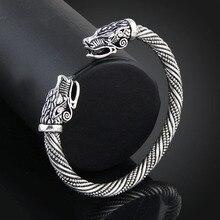 Teen Wolf Head Bracelet Indian Jewelry Fashion Accessories Viking Bracelet Men Wristband Cuff Bracelets For Women Bangles цена в Москве и Питере