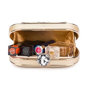 Image 2 - ผู้หญิงกระเป๋าประณีตหนังกระเป๋าถือโลหะHollow Designerงานแต่งงานกระเป๋าถือคลัทช์