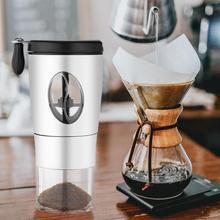 Paslanmaz Çelik Kahve Değirmeni El Manuel Kahve Fasulye Tozu Mutfak Aracı Kahve Fasulye Baharat Mini Mutfak Aracı Crocus Değirme...
