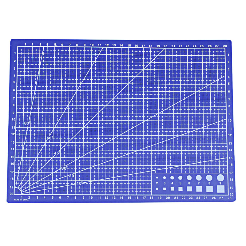 A4 Cutting Mat Craft Card Fabric Cloth Leather Paper Board Grid Lines Self Healing Pad 30*22cm