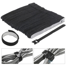 30 Pcs Magic Sticker Loop Cable Hook Loop Reusable Cable Ties Nylon Stick Straps Cable Management Back To Back Fastener