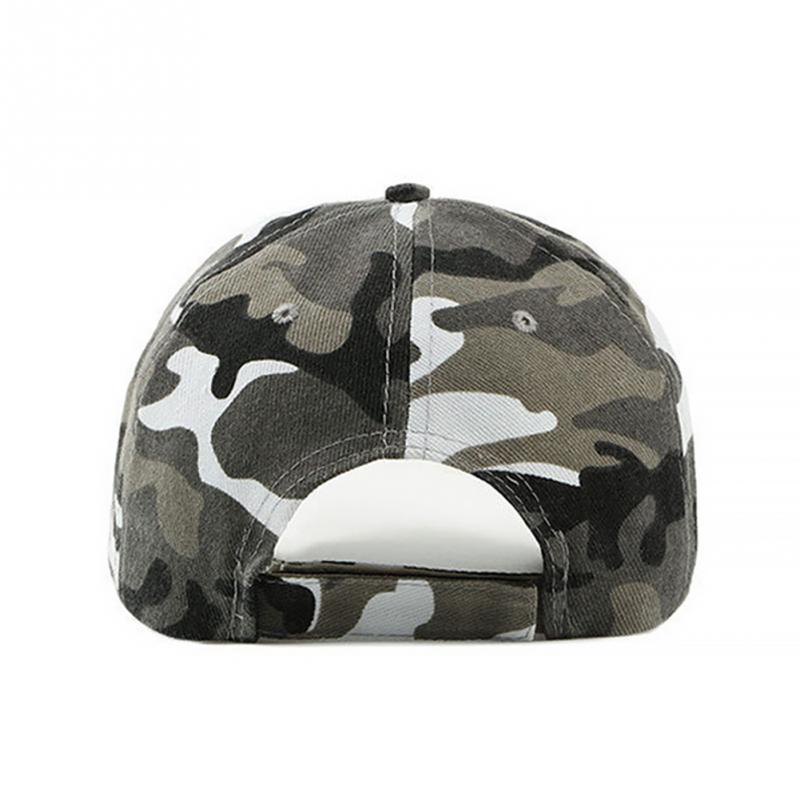 New Fashion Adjustable Unisex Army Camouflage Camo Cap Casquette Hat Baseball Cap Men Women Casual Desert Hat #H1020 4