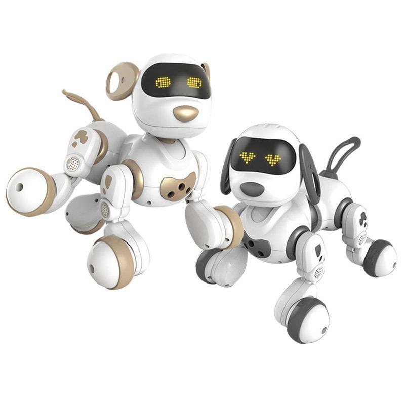Robot télécommandé animaux de compagnie électroniques chien jouet interactif chiot intelligent Robot jouets pour enfants - 2