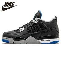 NIKE AIR JORDAN 4 PURE MONEY Мужская баскетбольная обувь Оригинальные AJ 4 наружные АМОРТИЗИРУЮЩИЕ НЕСКОЛЬЗЯЩИЕ кроссовки #308497 006